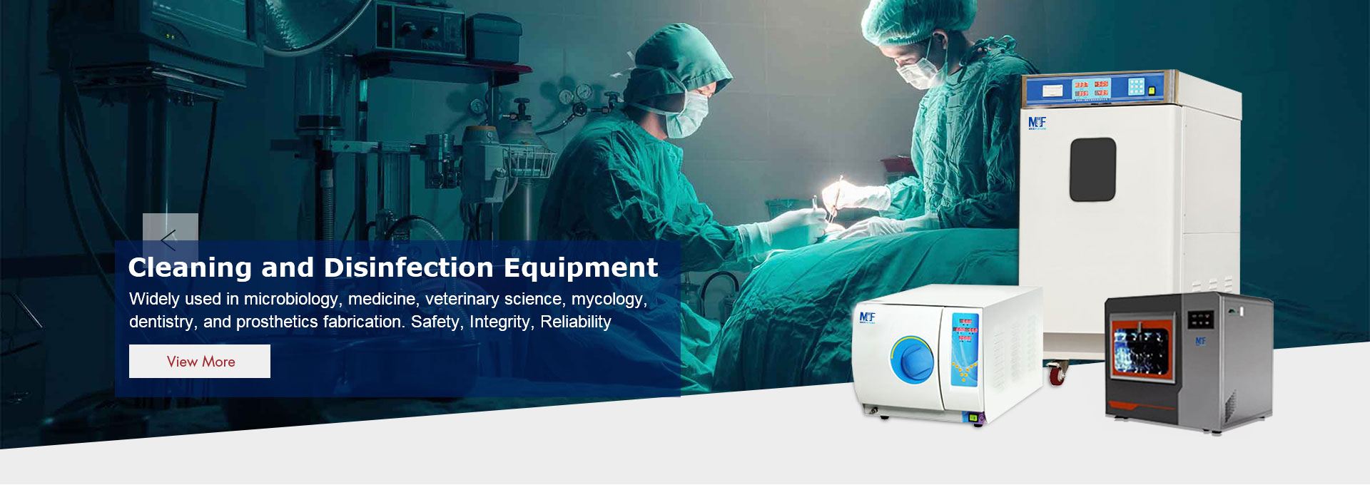 Cleaning and Disinfection Equipment