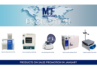 MEDFUTURE Products on Sales Promotion in January