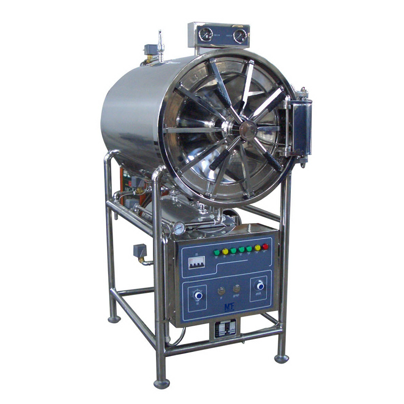 Stainless Steel Horizontal Cylindrical Pressure Steam Sterilizer