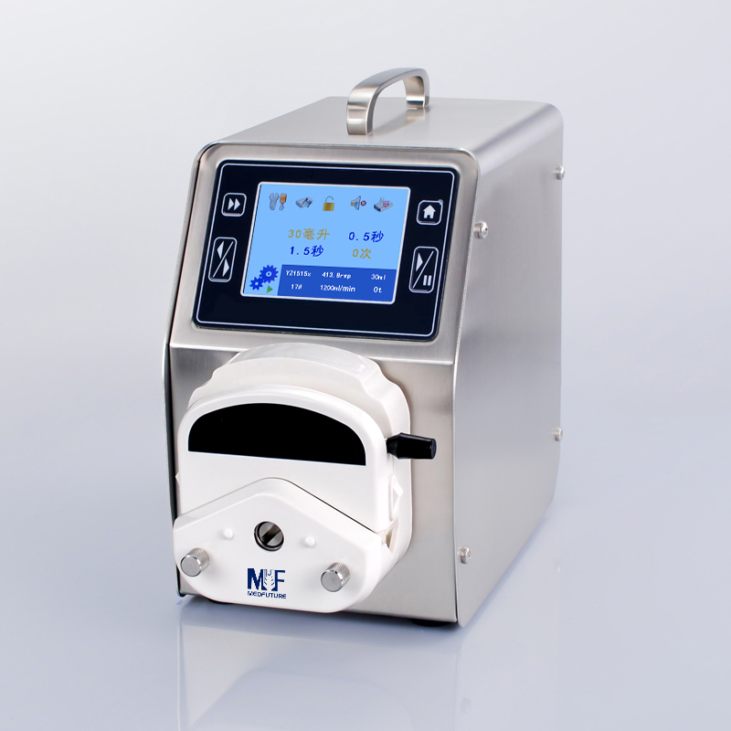 Touch Screen Dispensing Peristaltic Pump