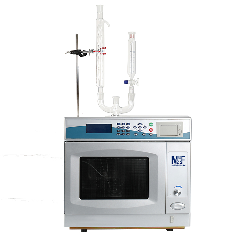 Microwave Instrument for Synthesis and Solvent Extraction