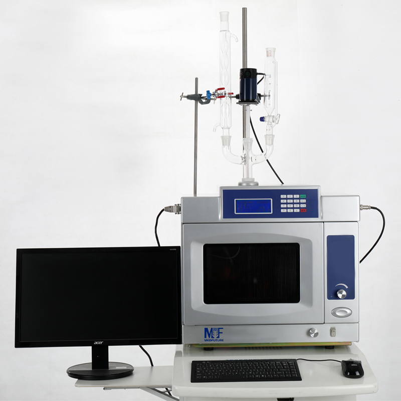 Microwave Workstation for Interplay of Solid and Liquid Synthesis and Solvent Extraction