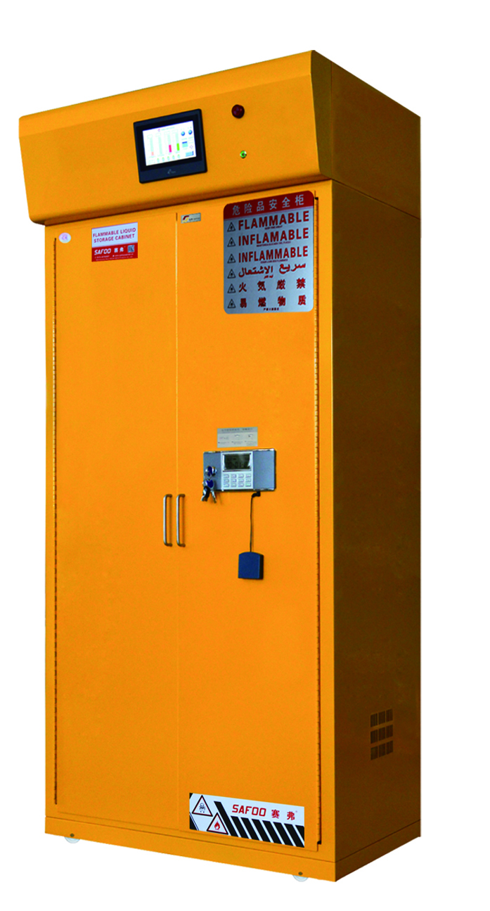 Filtered Flammable & Toxic Storage Cabinet