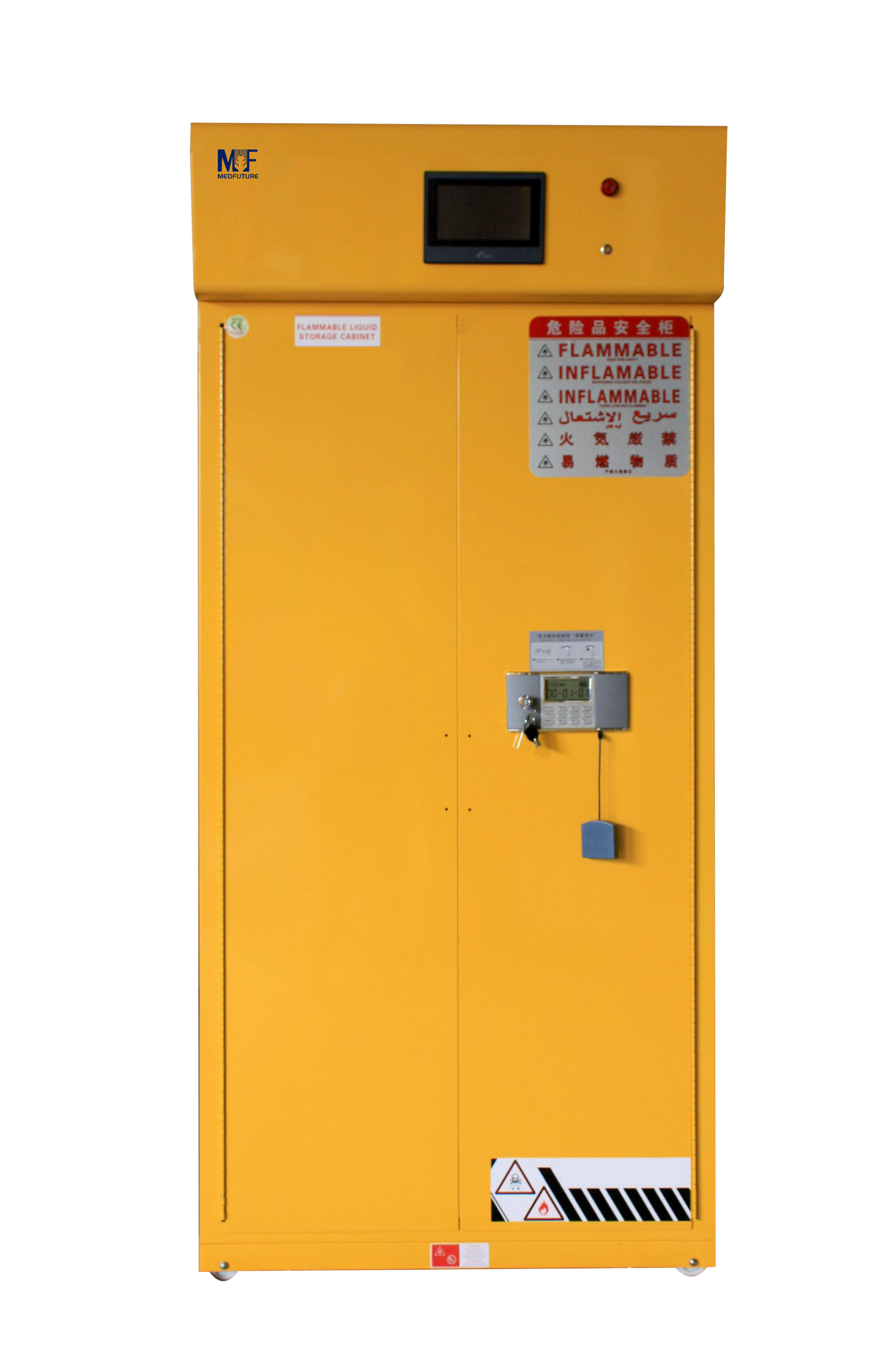 Filtered Flammable Toxic Storage Cabinet